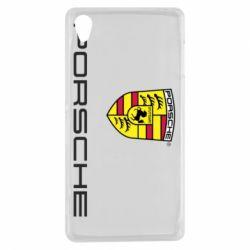 Чехол для Sony Xperia Z3 Porsche - FatLine