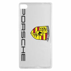 Чехол для Huawei P8 Porsche - FatLine