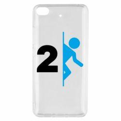 Чехол для Xiaomi Mi 5s Portal 2 logo