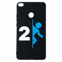 Чехол для Xiaomi Mi Max 2 Portal 2 logo