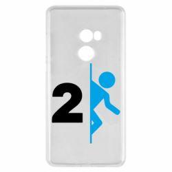 Чехол для Xiaomi Mi Mix 2 Portal 2 logo