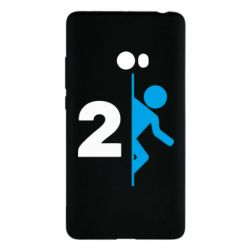 Чехол для Xiaomi Mi Note 2 Portal 2 logo