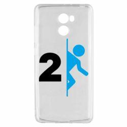 Чехол для Xiaomi Redmi 4 Portal 2 logo