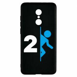 Чехол для Xiaomi Redmi 5 Portal 2 logo