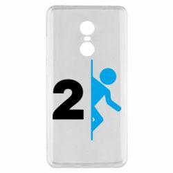 Чехол для Xiaomi Redmi Note 4x Portal 2 logo