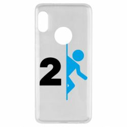 Чехол для Xiaomi Redmi Note 5 Portal 2 logo