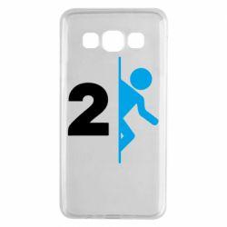 Чехол для Samsung A3 2015 Portal 2 logo