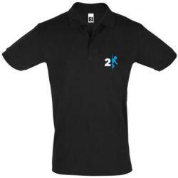 Мужская футболка поло Portal 2 logo