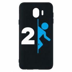Чехол для Samsung J4 Portal 2 logo