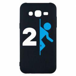 Чехол для Samsung J5 2015 Portal 2 logo