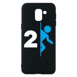 Чехол для Samsung J6 Portal 2 logo