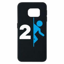 Чехол для Samsung S6 EDGE Portal 2 logo