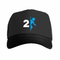 Кепка-тракер Portal 2 logo