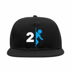 Снепбек Portal 2 logo