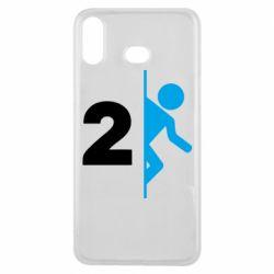 Чехол для Samsung A6s Portal 2 logo