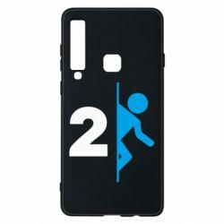 Чехол для Samsung A9 2018 Portal 2 logo