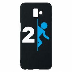 Чехол для Samsung J6 Plus 2018 Portal 2 logo