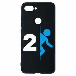 Чехол для Xiaomi Mi8 Lite Portal 2 logo