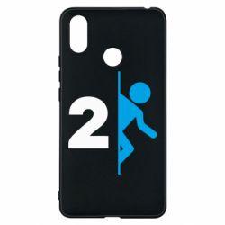 Чехол для Xiaomi Mi Max 3 Portal 2 logo