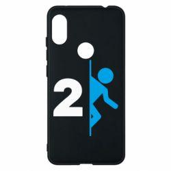 Чехол для Xiaomi Redmi Note 6 Pro Portal 2 logo