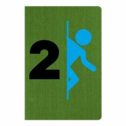 Блокнот А5 Portal 2 logo