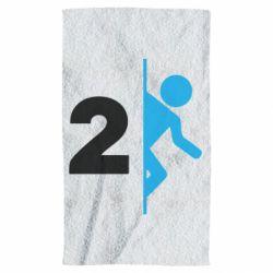 Полотенце Portal 2 logo