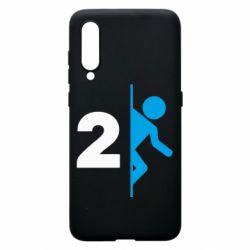 Чехол для Xiaomi Mi9 Portal 2 logo