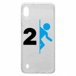 Чехол для Samsung A10 Portal 2 logo