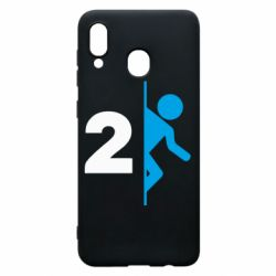 Чехол для Samsung A30 Portal 2 logo