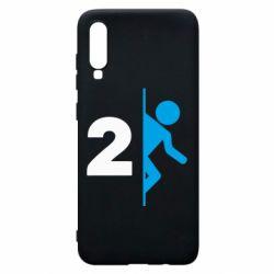 Чехол для Samsung A70 Portal 2 logo