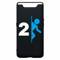 Чехол для Samsung A80 Portal 2 logo