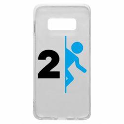 Чехол для Samsung S10e Portal 2 logo