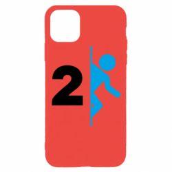 Чехол для iPhone 11 Pro Portal 2 logo