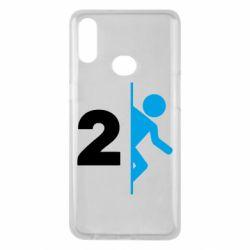 Чехол для Samsung A10s Portal 2 logo