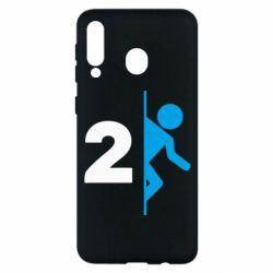 Чехол для Samsung M30 Portal 2 logo