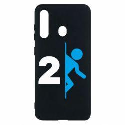 Чехол для Samsung M40 Portal 2 logo