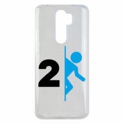 Чехол для Xiaomi Redmi Note 8 Pro Portal 2 logo