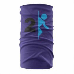 Бандана-труба Portal 2 logo