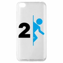 Чехол для Xiaomi Redmi Go Portal 2 logo