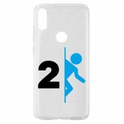 Чехол для Xiaomi Mi Play Portal 2 logo