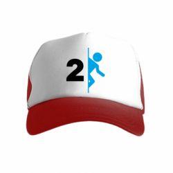 Детская кепка-тракер Portal 2 logo