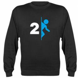 Реглан (свитшот) Portal 2 logo