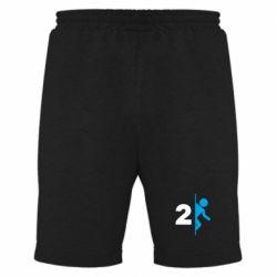 Мужские шорты Portal 2 logo