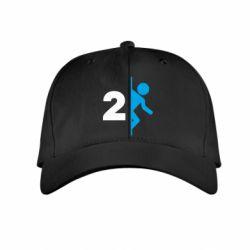 Детская кепка Portal 2 logo