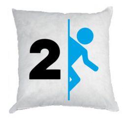 Подушка Portal 2 logo