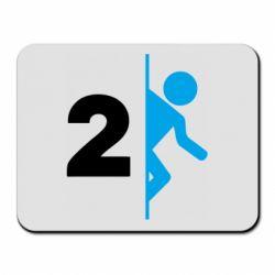 Коврик для мыши Portal 2 logo