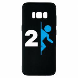 Чехол для Samsung S8 Portal 2 logo
