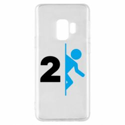 Чехол для Samsung S9 Portal 2 logo