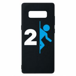 Чехол для Samsung Note 8 Portal 2 logo