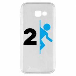 Чехол для Samsung A5 2017 Portal 2 logo